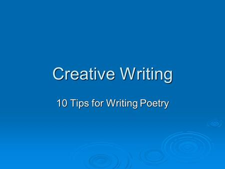 extension english creative writing ideas Creative writing rubric: criteria for creative writing the extent to which ideas are elaborated creative writing rubric: criteria for creative writing.