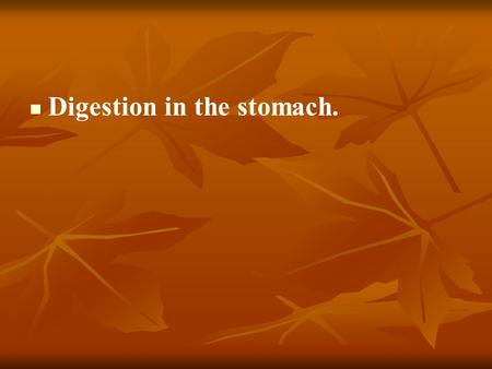 Digestion in the stomach.. Functions of stomach 1. Digestive (mechanical treatment, absorption, evacuation, secretion, depo); 1. Digestive (mechanical.