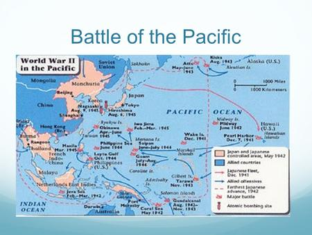 "Battle of the Pacific. Shaping Military Strategy ""Island Hopping"" is the phrase given to the strategy employed by the United States to gain military bases."
