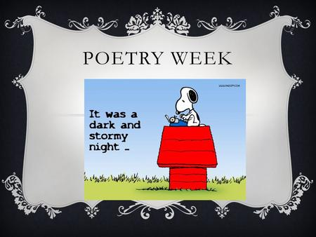 Poetry...what do you think?