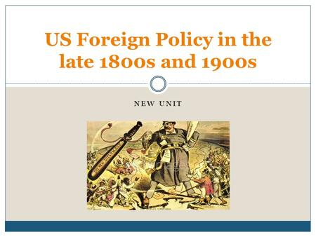 american foreign policies in the late This was in line with both american neutrality policies, and with a europe-wide agreement to not sell arms for use in the spanish war lest it escalate into a world war.