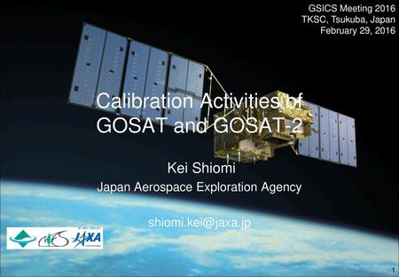 Calibration Activities of GOSAT and GOSAT-2