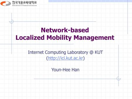 Network-based Localized Mobility Management