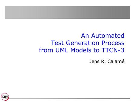 An Automated Test Generation Process from UML Models to TTCN-3