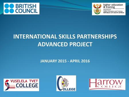 INTERNATIONAL SKILLS PARTNERSHIPS