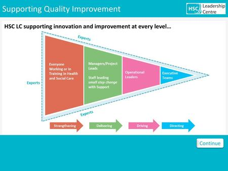 Supporting Quality Improvement