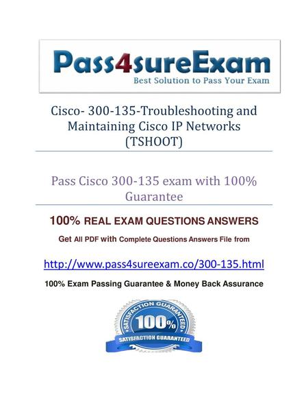 100% Exam Passing Guarantee & Money Back Assurance