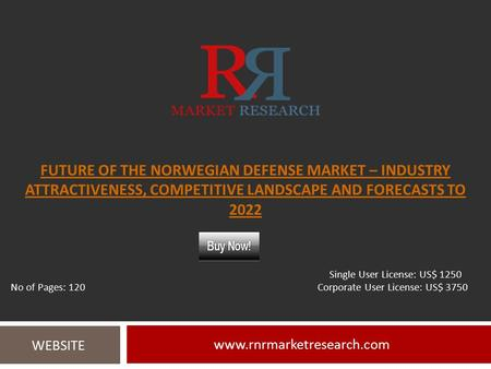 FUTURE OF THE NORWEGIAN DEFENSE MARKET – INDUSTRY ATTRACTIVENESS, COMPETITIVE LANDSCAPE AND FORECASTS TO WEBSITE Single.