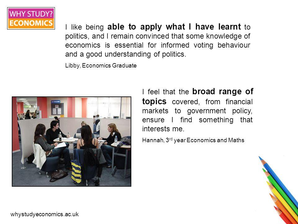 whystudyeconomics.ac.uk What do I get.BA or BSc. Economics: Art or Science.