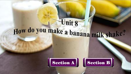 How do you make a banana milk shake?