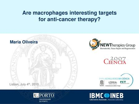 Are macrophages interesting targets for anti-cancer therapy?