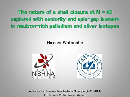 Advances in Radioactive Isotope Science (ARIS2014)