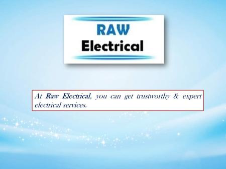 Get Electrical Services for Home & Business in Gordon