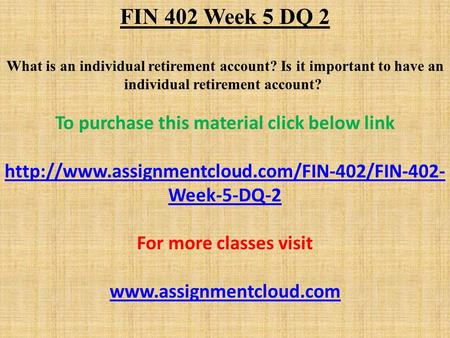 fin 402 week 3 relative performance Fin 402 week 3 learning team assignment relative performance analysis paper $500 add to cart resources: week three readings prepare a 1,050- to.