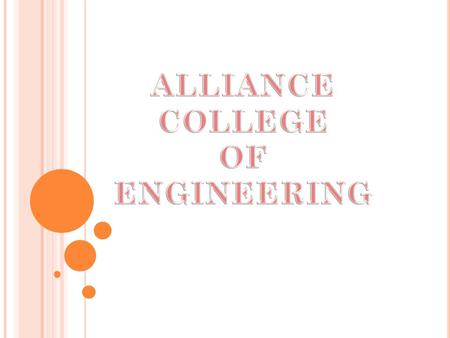 Alliance College of engineering Bangalore