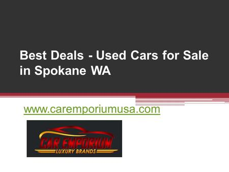 Best Deals - Used Cars for Sale in Spokane WA