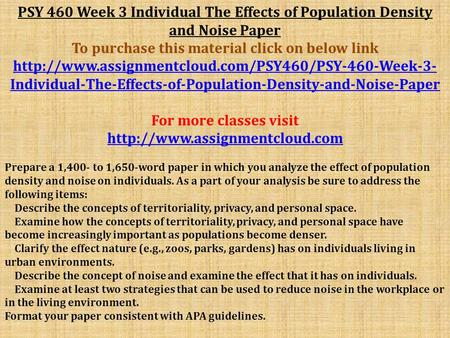 effects of population density and noise essay College essay writing service question submitted by jaciep on mon, 2013-05-20 16:21 due on fri, 2013-05-24 10:12 answered 2 time(s) hand shake with kim woods: complete ($100 paid) hand shake with perfecto: in progress jaciep is willing to pay $300 jaciep bought 25 out of 26 answered question(s) more questions like this for compwizard only.