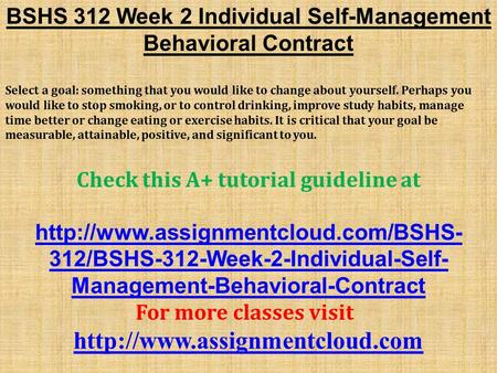 bshs 325 week 2 adolescent self In this archive file of bshs 325 entire course you will find the next documents: bshs 325 week 1 dq 1docx bshs 325 week 1 dq 2docx bshs 325 week 1 individual assignment foundations of human development worksheetdoc bshs 325 week 1 individual assignment foundations of human developmentdocx bshs 325 week 2 adolescent self portrait.