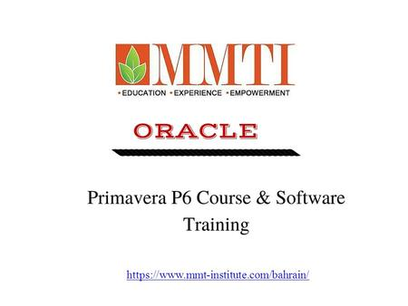 Best PMP Certification Course in Bahrain