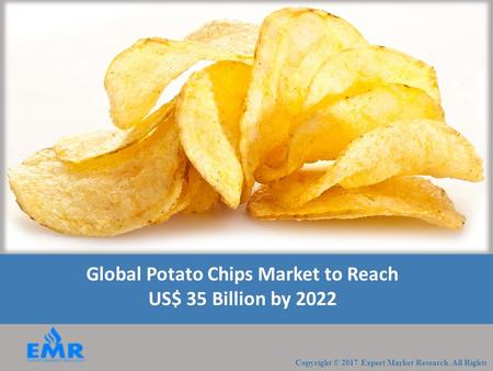 Global Potato Chips Market to Reach US$ 35 Billion by 2022