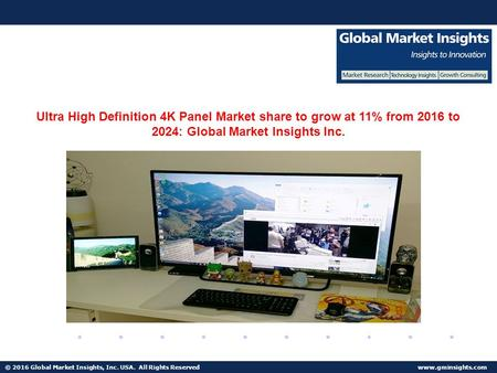 © 2016 Global Market Insights, Inc. USA. All Rights Reserved  Fuel Cell Market size worth $25.5bn by 2024 Ultra High Definition 4K Panel.