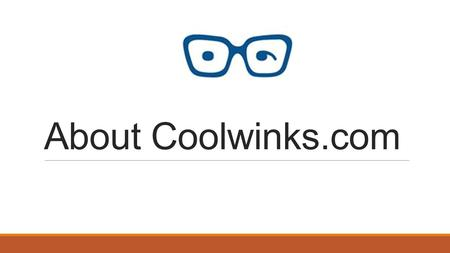 Coolwinks Website Introduction Coolwinks is India's leading online eyewear platform in India.