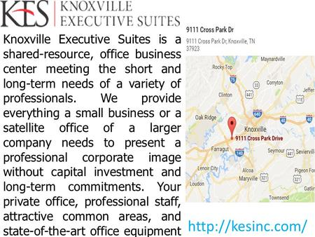 Choose Your Reasonable Knoxville Office Space for Lease