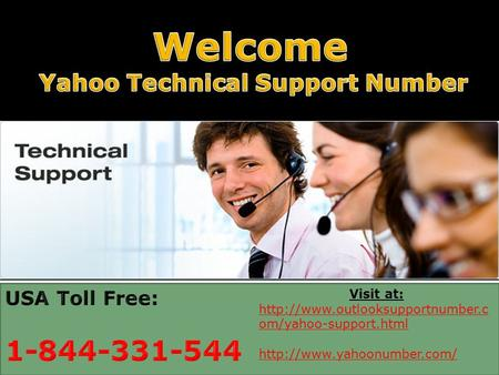 Contact Yahoo Technical Support Number 1-844-331-5444