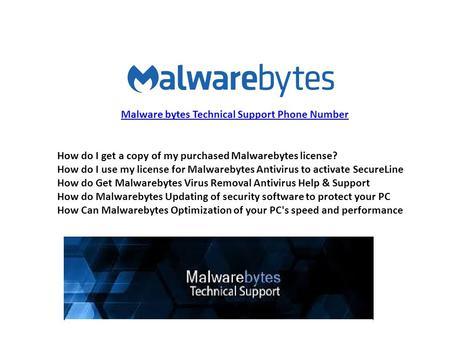 How do I get a copy of my purchased Malwarebytes license? How do I