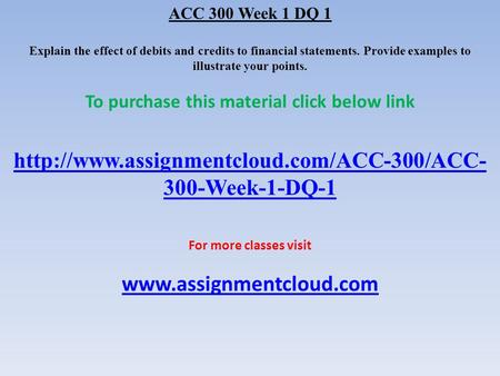 acc 541 week 1 accounting standards Read acc 547 week 3 dq i6-23 problems from the story acc 497 week 1 dq 2 by uopmaterials acc 541 week 1 individual accounting standards boards paper acc 541 week.