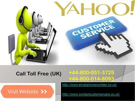 Yahoo Customer Service Phone Number UK