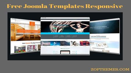 Responsive One Page Joomla Template / Themes
