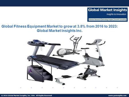 © 2016 Global Market Insights, Inc. USA. All Rights Reserved  Fuel Cell Market size worth $25.5bn by 2024 Global Fitness Equipment Market.