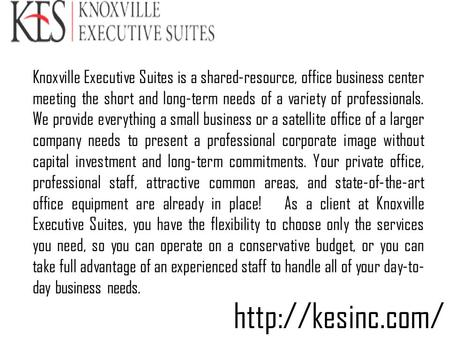 Short Term Office Lease in Knoxville