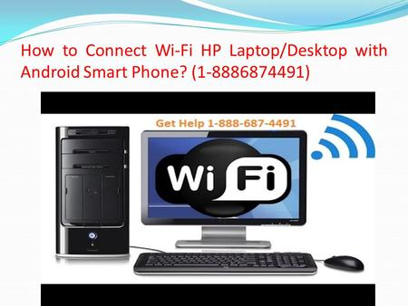 How to Connect Wi-Fi HP Laptop/Desktop with Android Smart Phone? ( )