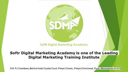 Softr Digital Marketing Academy is one of the Leading Digital Marketing Training Institute 210- PJ Chambers, Behind Hotel Crystal Court, Pimpri Chowk,,