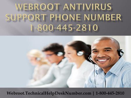 Webroot Antivirus support phone number 1-800-445-2810 Technical Support