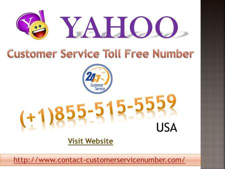 Yahoo Customer Service Email Number USA .