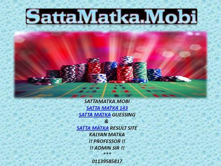 Expert Tips to Play Matka Game