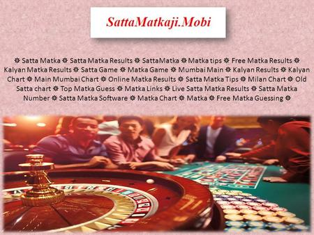Sattamatkaji - Online Satta Games with 100% Welcome Bonus