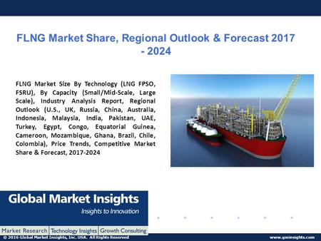 © 2016 Global Market Insights, Inc. USA. All Rights Reserved  FLNG Market Share, Regional Outlook & Forecast FLNG Market.