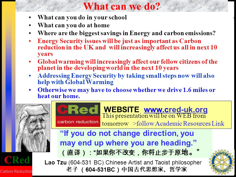 CRed Carbon Reduction
