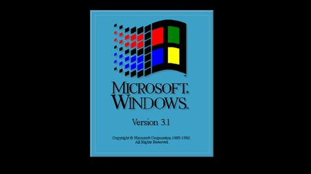 Windows Version 3.1