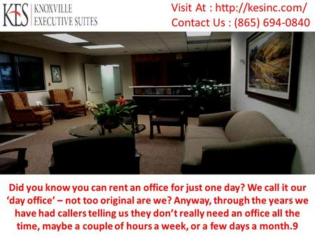 Best Office Space in Knoxville by KesINC