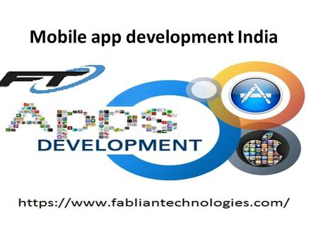 Mobile app development India. Mobile app development company.