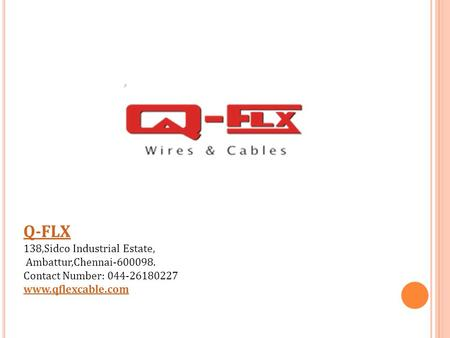Best Cable Manufacturers in India