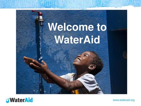 Welcome to WaterAid.