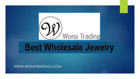 Best Wholesale Jewelry