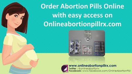 Buying abortion pills online